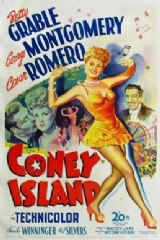 Coney Island 1943 DVD - Betty Grable / George Montgomery